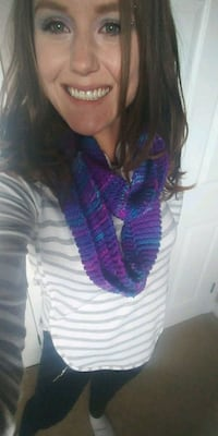 Mixed Purple Infinity Scarf Hamilton, L9C 5N9