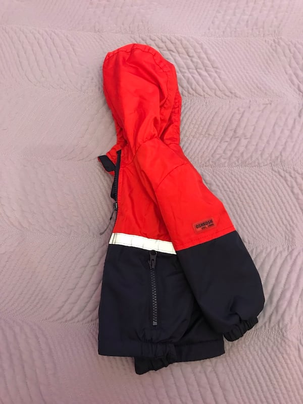 12 month fleece lined spring/fall jacket 1