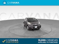 2012 Scion iQ hatchback Hatchback 2D Gray <br />