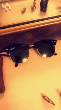 Ray Ban Clubmaster black & gold NEW NEW Bethesda, 20817