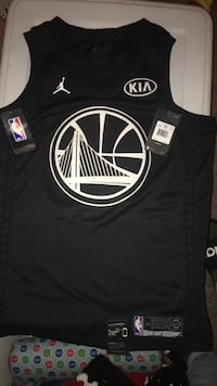 Golden State Allstar game Jersey Brand New (Wrong Size) still has tags. And it has NikeConnect   Sacramento, 95842