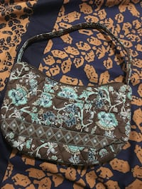 brown and teal hobo bag Bakersfield, 93311