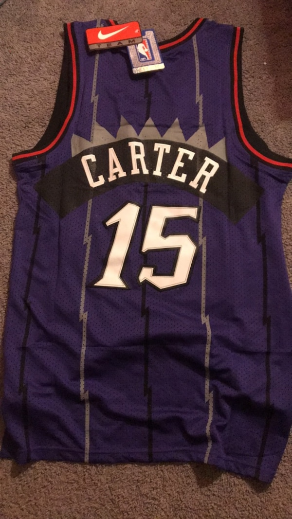 separation shoes 8e6cf 380e2 Used Vince Carter Authentic Raptors Jersey for sale in ...