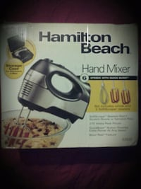 electric Hamilton Beach hand mixer  Pearl, 39208