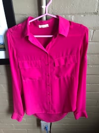 For Charity, selling 4 Chiffon blouses as a lot, Garage, XS and SM
