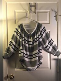 NWT - Express black and white blouse in large  Arlington, 22205
