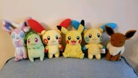 Pokemon Pikachu and friends plush set Deerfield Beach