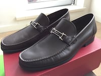 pair of black leather loafers Richmond, V6X