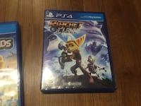 Ratchet Clank PS4 game case