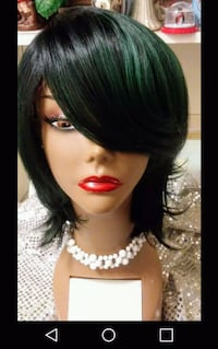 Sexy Ombre Green/Black Lace Wig College Station, 77845