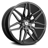 """20"""" Staggered Asanti ABL-11 with tires Abbotsford, V2T 5G6"""