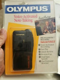 Voice activated note taking microcassette recorder Tampa, 33624