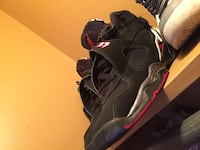 black-and-red Air Jordan 7 shoes Schenectady, 12302