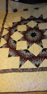 Amish made homemade quilt