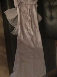 Lavender (silver shimmer) size small prom dress Alexandria, 22306