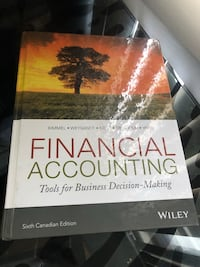Financial Accounting- Tools for Decision Making Mississauga, L5A