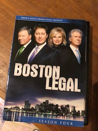 DVD séries Boston Légal series saison 4 Gatineau, J8V 3Y8