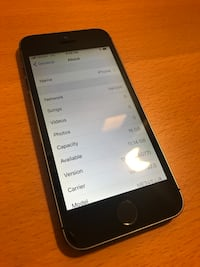 iPhone 5S 16GB Space Gray Annandale, 22003