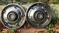 Late model 70's Chevy hubcaps