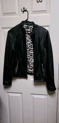 black rivet leather zip-up jacket blk Las Vegas, 89123
