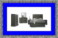 11pc Kate bedroom set with mattress 55 mi