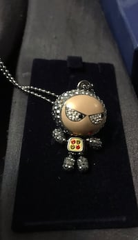 Swarovski Spaceman Necklace