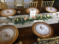Beige/Ivory table runners
