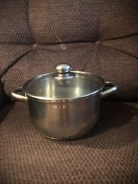 Stainless steel medium size sauce pot