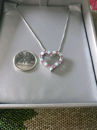 Opal and pink sapphire necklace Kitchener, N2E 2S2
