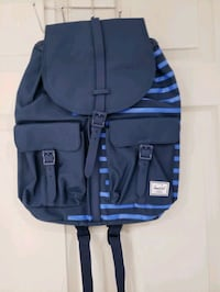 Herschel backpack Navy Blue & stripe  Markham, L3R