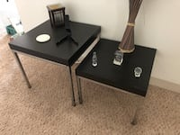 Two Decorative Tables Lowell, 01852