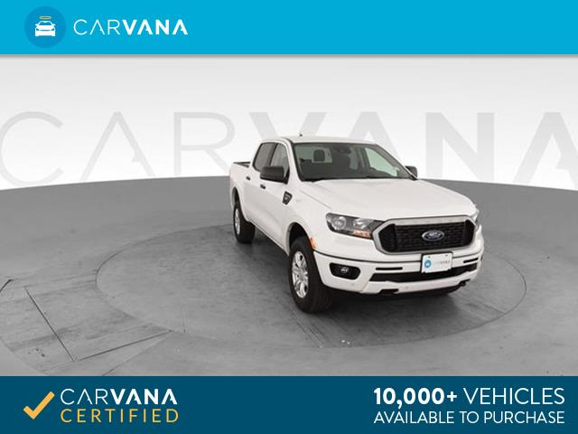 Photo 2019 Ford Ranger SuperCrew pickup XLT Pickup 4D 5 ft White <br