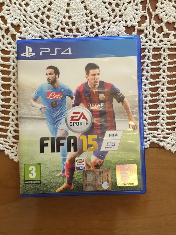 FIFA15 PS4 Cd caso di gioco