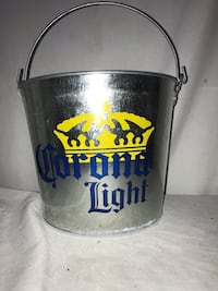 Corona LIGHT Metal Bucket with Bottle Opener Washington, 20017