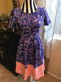 Brand New With Tag! LulaRoe Nicole Dress Size XS Las Vegas, 89148