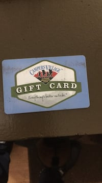 $100 campers village gift card Spruce Grove, T7X 1C4