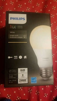 Philips Hue Personal Wireless Lighting Single Bulb Brampton, L7A 1Z3