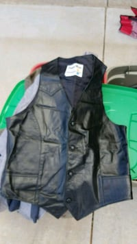 Leather vest Midland, 79705