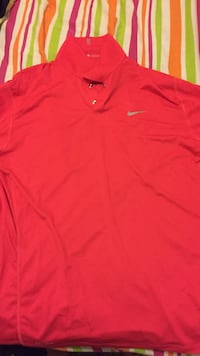 Red nike polo shirt Winnipeg, R3J 1J5