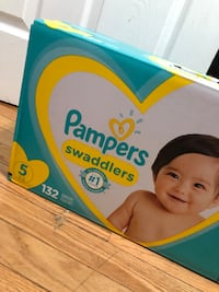 Size 5 brand new diapers  Clifton