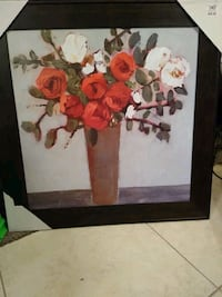 Red Floral Painting from Kirklands Tampa, 33624