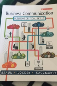 Business Communication 6th Canadian Edition  Calgary, T3H 0L2