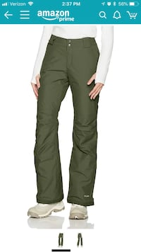 Columbia Women's Storm Slope pant M Plymouth, 55446