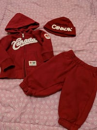 Neutral 0-6m Canada outfit & hat  Surrey, V3W 5S2