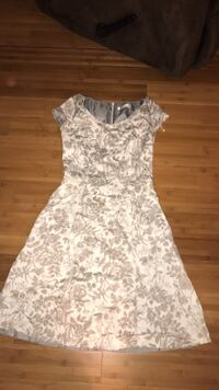Grey and white floral sundress Woodbridge, 22192