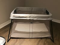 baby's gray and white bassinet Toronto, M6H 4B9
