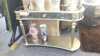 Gold sofa table Irving, 75062