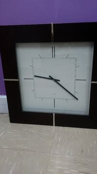 Clock wall. Made in Japan