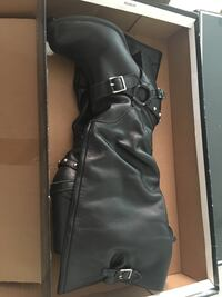 black leather knee-high boots San Diego, 92115