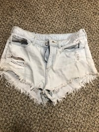 women's white denim short shorts Olathe, 66061